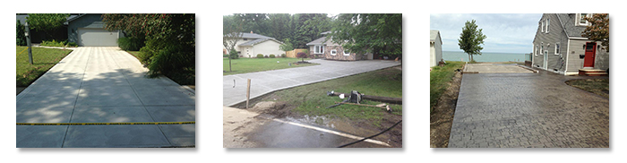 Concrete Driveway Projects